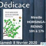 Lutte contre le cancer_Rencontre avec Mireille Horsinga-Renno à Obernai